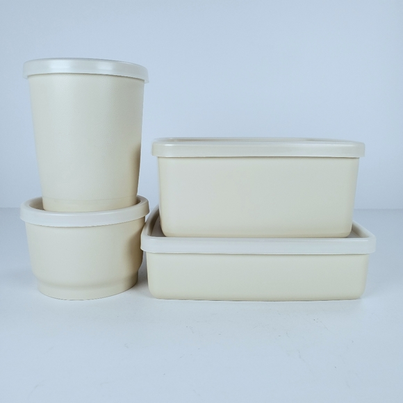 Tupperware Other - Vintage Tupperware Storage Containers Set of 4